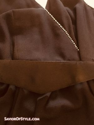 Vintage 1980s A.J. Bari Black Long Halter Dress