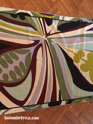 SOLD - Vintage Emilio Pucci Purple, Periwinkle Blue, Grass Green, Acid Green, White and Aqua Blue 27