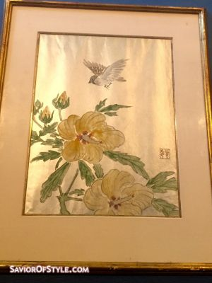 Vintage Traditional Chinese Painting