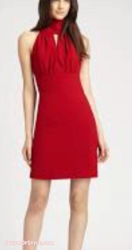 Rachel Zoe Red Cocktail Dress